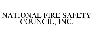 mark for NATIONAL FIRE SAFETY COUNCIL, INC., trademark #85860561