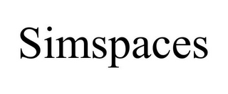 mark for SIMSPACES, trademark #85860582