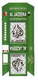mark for AL JAZEERA FILTER CIGARETTES 20 PREMIUM CLASS CIGARETTES, trademark #85860638