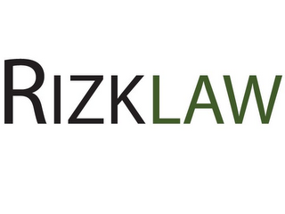 mark for RIZKLAW, trademark #85860703