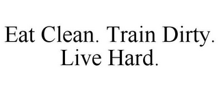 mark for EAT CLEAN. TRAIN DIRTY. LIVE HARD., trademark #85860734