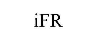 mark for IFR, trademark #85860983