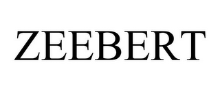 mark for ZEEBERT, trademark #85861114