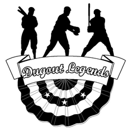 mark for DUGOUT LEGENDS, trademark #85861441