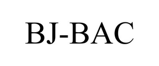 mark for BJ-BAC, trademark #85861556