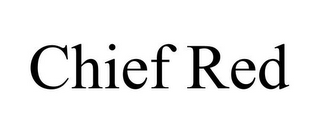 mark for CHIEF RED, trademark #85861657