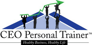 mark for CEO PERSONAL TRAINER HEALTHY BUSINSS, HEALTHY LIFE, trademark #85861674