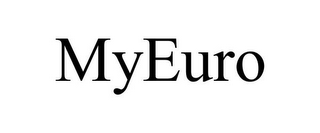 mark for MYEURO, trademark #85862022
