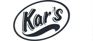 mark for KAR'S, trademark #85862024