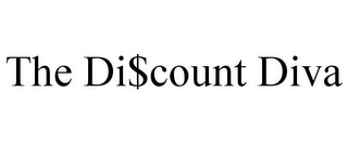 mark for THE DI$COUNT DIVA, trademark #85862317