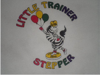 mark for LITTLE TRAINER STEPPER, trademark #85862387