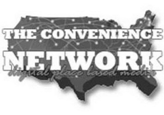 mark for THE CONVENIENCE NETWORK DIGITAL PLACE BASED MEDIA, trademark #85862423