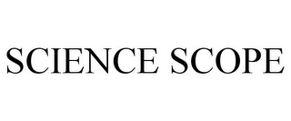 mark for SCIENCE SCOPE, trademark #85862426