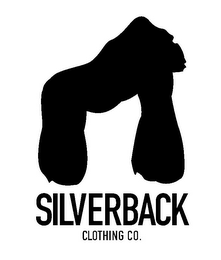 mark for SILVERBACK CLOTHING CO., trademark #85862494