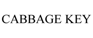 mark for CABBAGE KEY, trademark #85862583