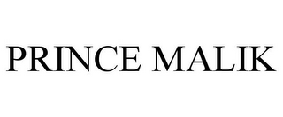 mark for PRINCE MALIK, trademark #85862879
