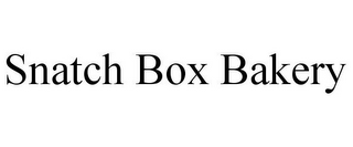 mark for SNATCH BOX BAKERY, trademark #85862950