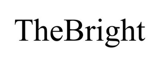 mark for THEBRIGHT, trademark #85863160