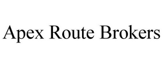 mark for APEX ROUTE BROKERS, trademark #85863240