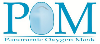 mark for POM PANORAMIC OXYGEN MASK, trademark #85863316