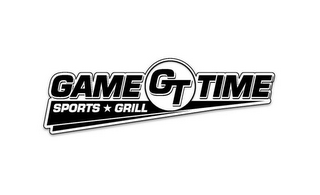 mark for GT GAME TIME SPORTS GRILL, trademark #85863439