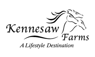 mark for KENNESAW FARMS A LIFESTYLE DESTINATION, trademark #85863464