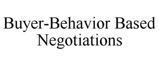 mark for BUYER-BEHAVIOR BASED NEGOTIATIONS, trademark #85863831