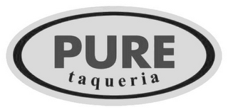 mark for PURE TAQUERIA, trademark #85863848