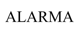 mark for ALARMA, trademark #85864057