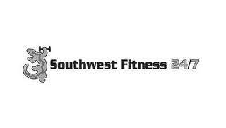 mark for SOUTHWEST FITNESS 24/7, trademark #85864244
