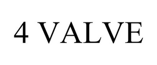 mark for 4 VALVE, trademark #85864324