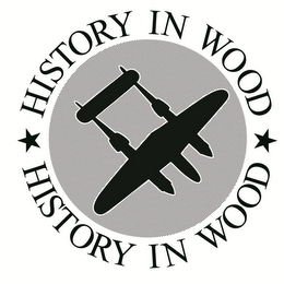 mark for HISTORY IN WOOD HISTORY IN WOOD, trademark #85864401