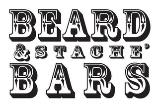 mark for BEARD & STACHE' BARS, trademark #85864935