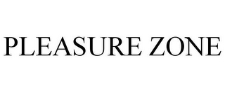 mark for PLEASURE ZONE, trademark #85865116