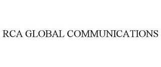 mark for RCA GLOBAL COMMUNICATIONS, trademark #85865163