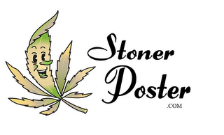 mark for STONER POSTER .COM, trademark #85865187