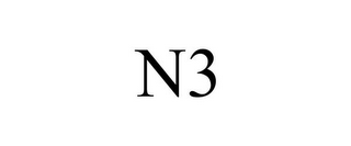 mark for N3, trademark #85865222