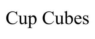 mark for CUP CUBES, trademark #85865327