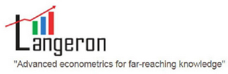 "mark for LANGERON ""ADVANCED ECONOMETRICS FOR FAR-REACHING KNOWLEDGE"", trademark #85865350"