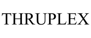 mark for THRUPLEX, trademark #85865427
