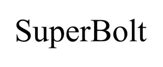 mark for SUPERBOLT, trademark #85865495