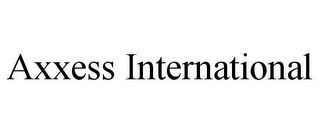 mark for AXXESS INTERNATIONAL, trademark #85865733
