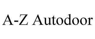 mark for A-Z AUTODOOR, trademark #85865759