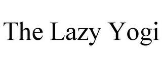 mark for THE LAZY YOGI, trademark #85865922