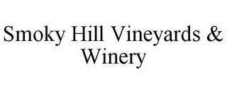 mark for SMOKY HILL VINEYARDS & WINERY, trademark #85865972