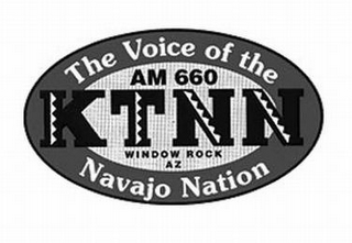 mark for KTNN THE VOICE OF THE NAVAJO NATION AM 660 WINDOW ROCK AZ, trademark #85865973