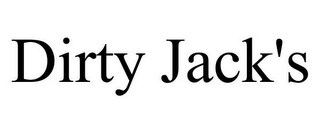 mark for DIRTY JACK'S, trademark #85866113