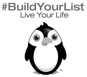 mark for #BUILDYOURLIST LIVE YOUR LIFE, trademark #85866179