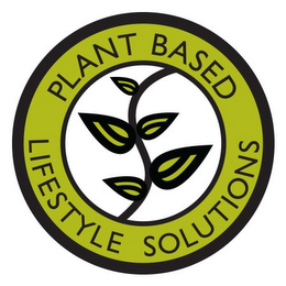 mark for PLANT BASED LIFESTYLE SOLUTIONS, trademark #85866314