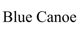 mark for BLUE CANOE, trademark #85866517